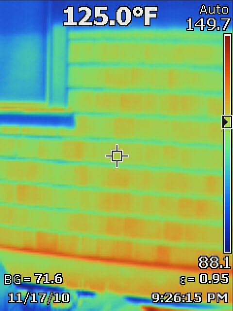 Dlyan Chalk photo from infrared camera showing exterior